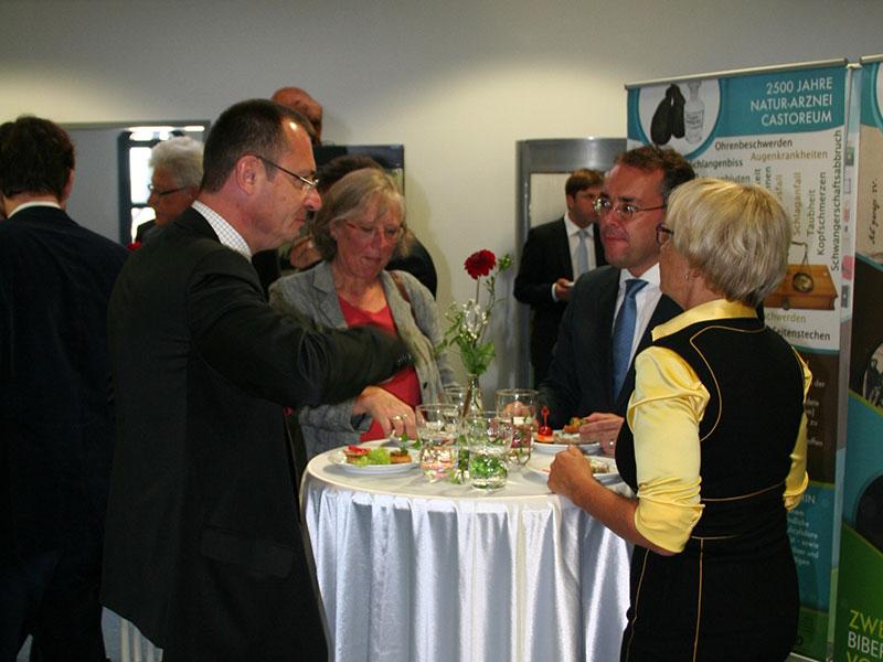 von links: Thilo Rentschler, Claudia Duppel, Peter Friedrich, Brigitte Dahlbender.