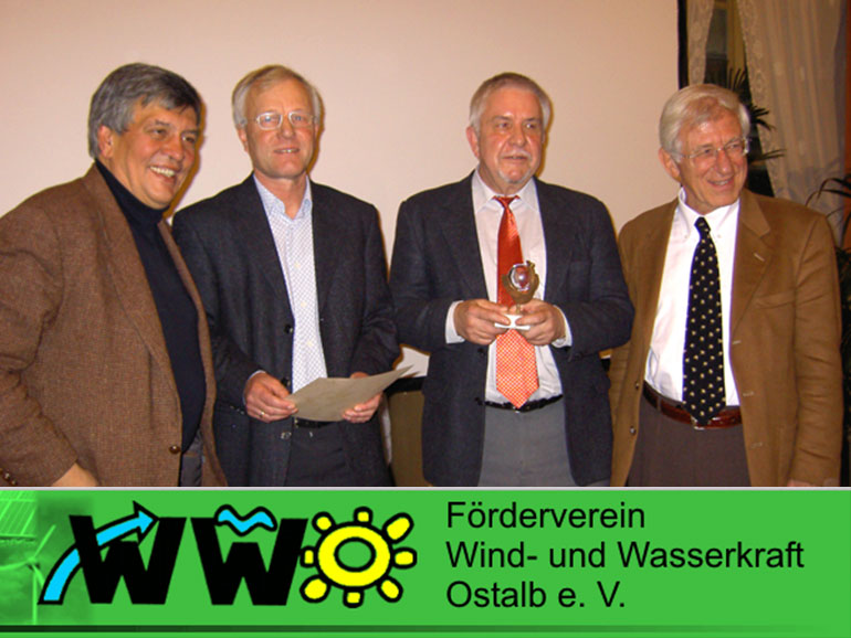 Verleihung des Solarpreises 2006