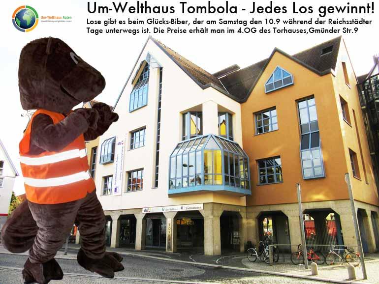 Um-Welthaus_Tombola_Biber_Torhaus